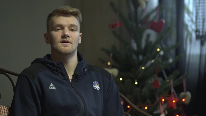 Баскетболисты команды «Парма» поздравили Пермь с Новым годом стихами Пастернака