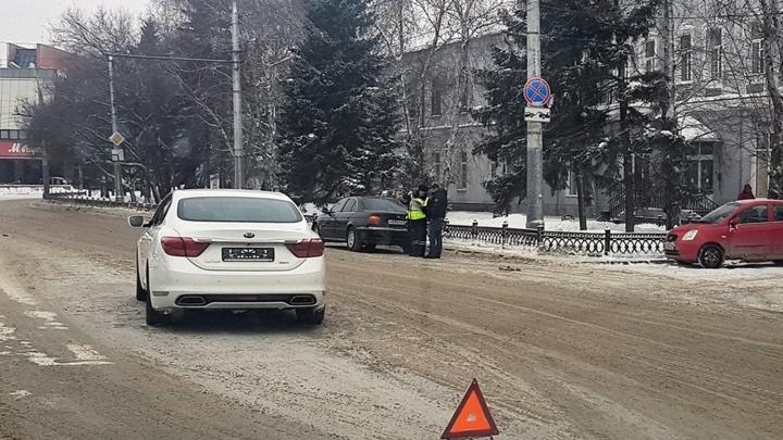 Машина мэра попала в аварию