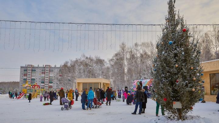 Новый год с группой компаний «Тополинка» отметят жители нескольких районов Челябинска