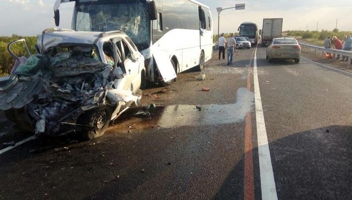 В полиции разобрали видео смертельной аварии с пермской KIA под Волгоградом