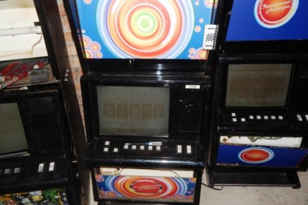 Эти автоматы работали, когда в клуб заявился спецназ