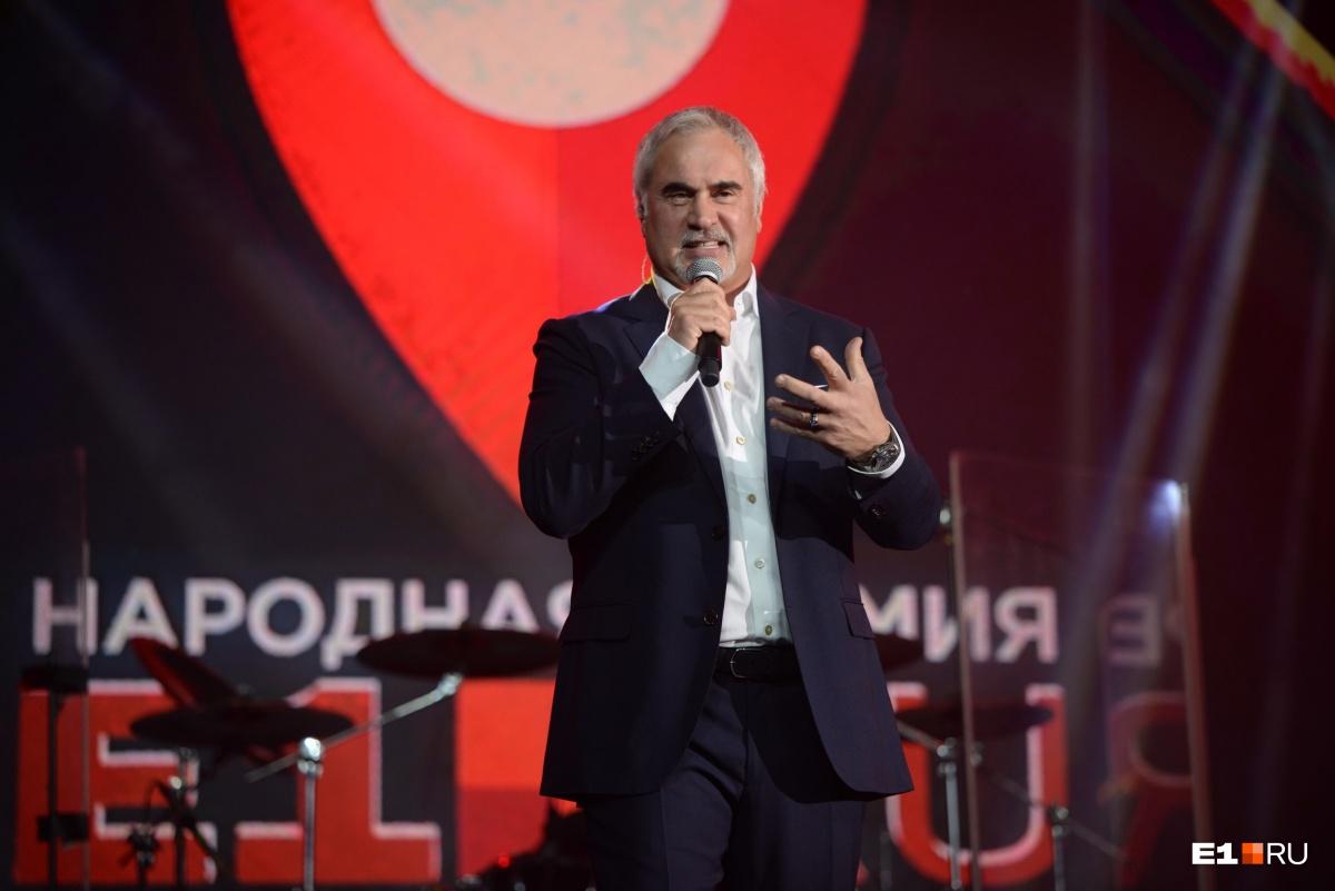 Валерий Меладзе общался с залом