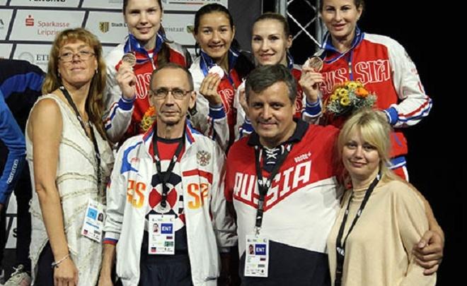 Башкирские рапиристки вернулись на родину с медалями