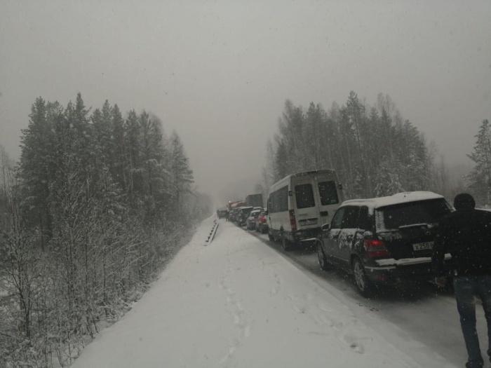 На Серовском тракте множество ДТП