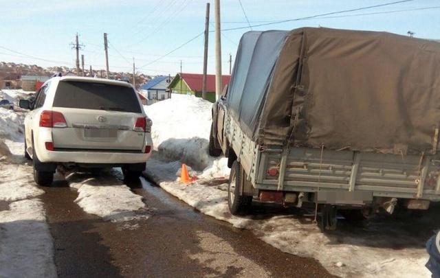 В Башкирии водитель без прав насмерть сбил своего начальника на его же машине