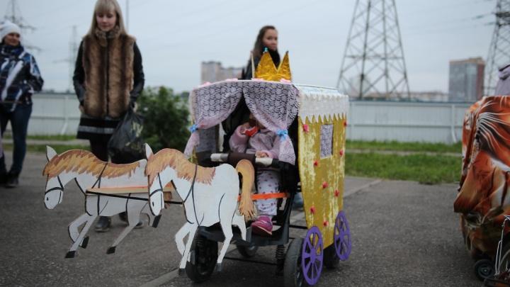 Можно с нарядными колясками, беговелами, велосипедами. Пермяков приглашают на парад колясок