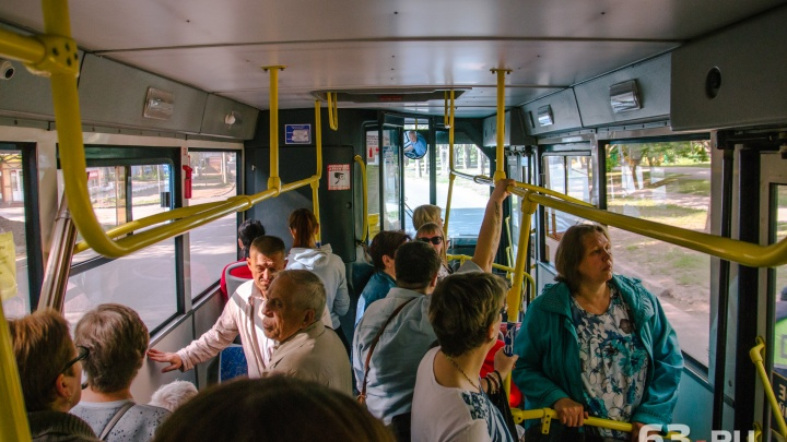 В Самаре автобусы № 51 будут выходить в рейс на полчаса раньше