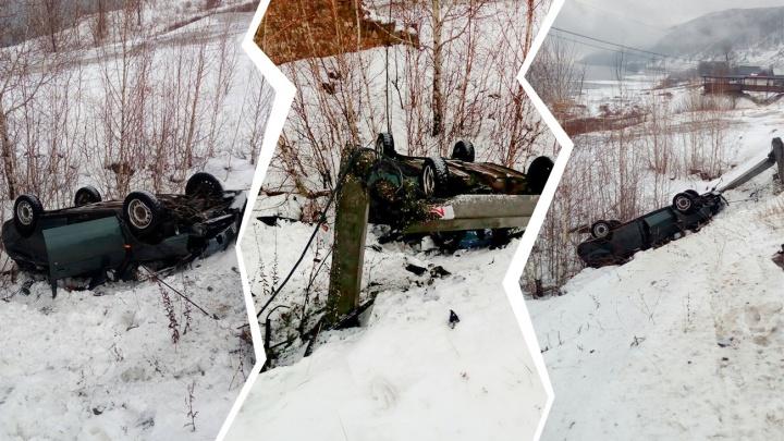 «Протаранила столб и перевернулась»: в ДТП с «Приорой» около Ширяево погибли двое юношей