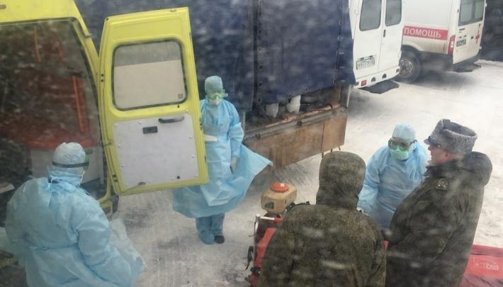 В карантинной зоне в Тюмени, куда эвакуировали россиян из Ухани, оказались пять екатеринбуржцев
