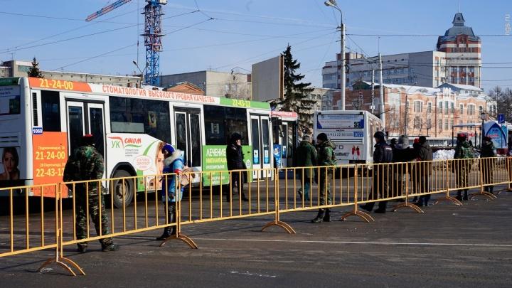 Для акции автомобилистов в центре Омска перекроют часть дорог и запретят парковку