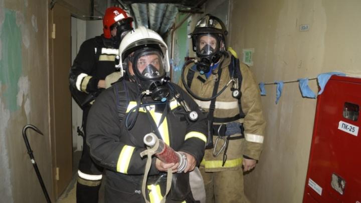 На комбинате «Синтез» проверили готовность к ликвидации пожара