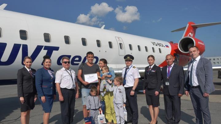 Аэропорт «Уфа» встретил 2,5-миллионного пассажира