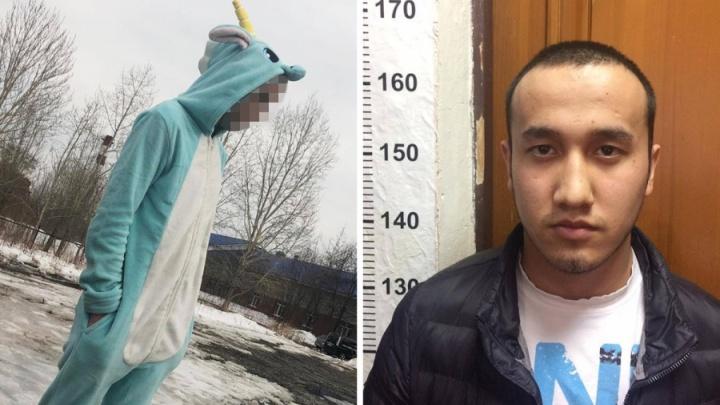 Таксиста, ограбившего в Екатеринбурге пассажира в костюме единорога, отправили в колонию