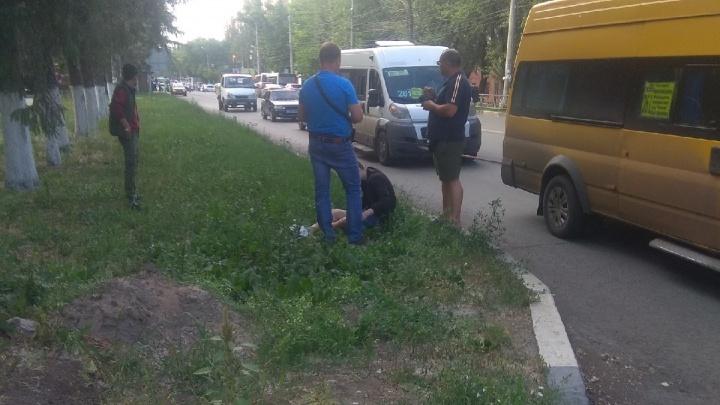 В Самаре на Кирова — Ставропольской сбили человека