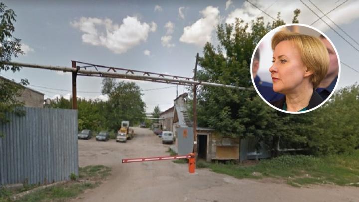 Лапушкина заблокировала строительство вредных складов на Мехзаводе