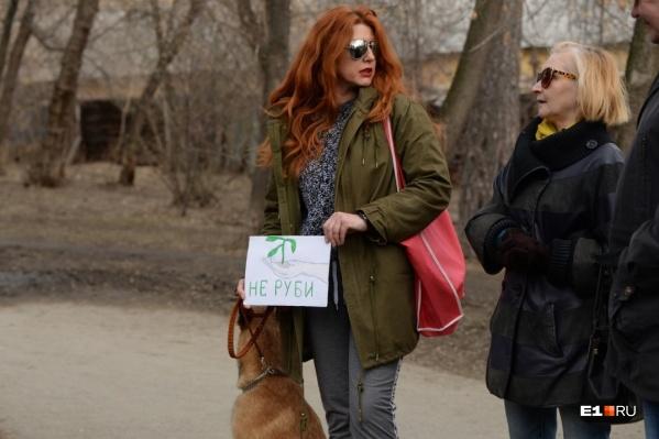 Общественники выступают против проекта реконструкции парка, который утвердила мэрия