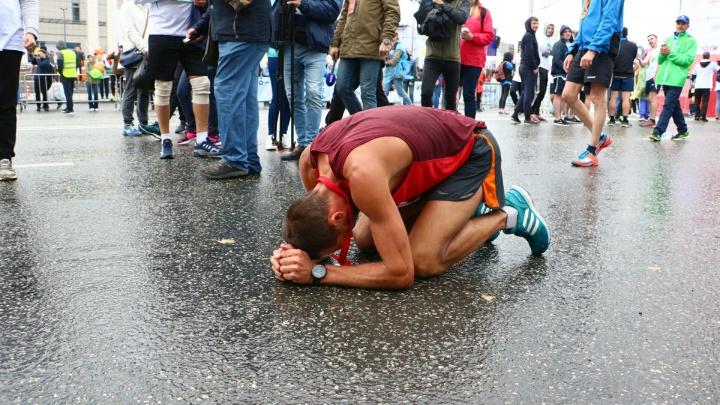 «Борьба на протяжении всей дистанции». Определились победители пермского марафона
