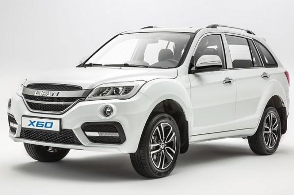 В Новосибирске продали 166 штук Lifan X60