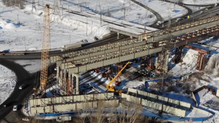 В Самарской области могут ввести ограничения для большегрузов под строящейся развязкой у Тольятти