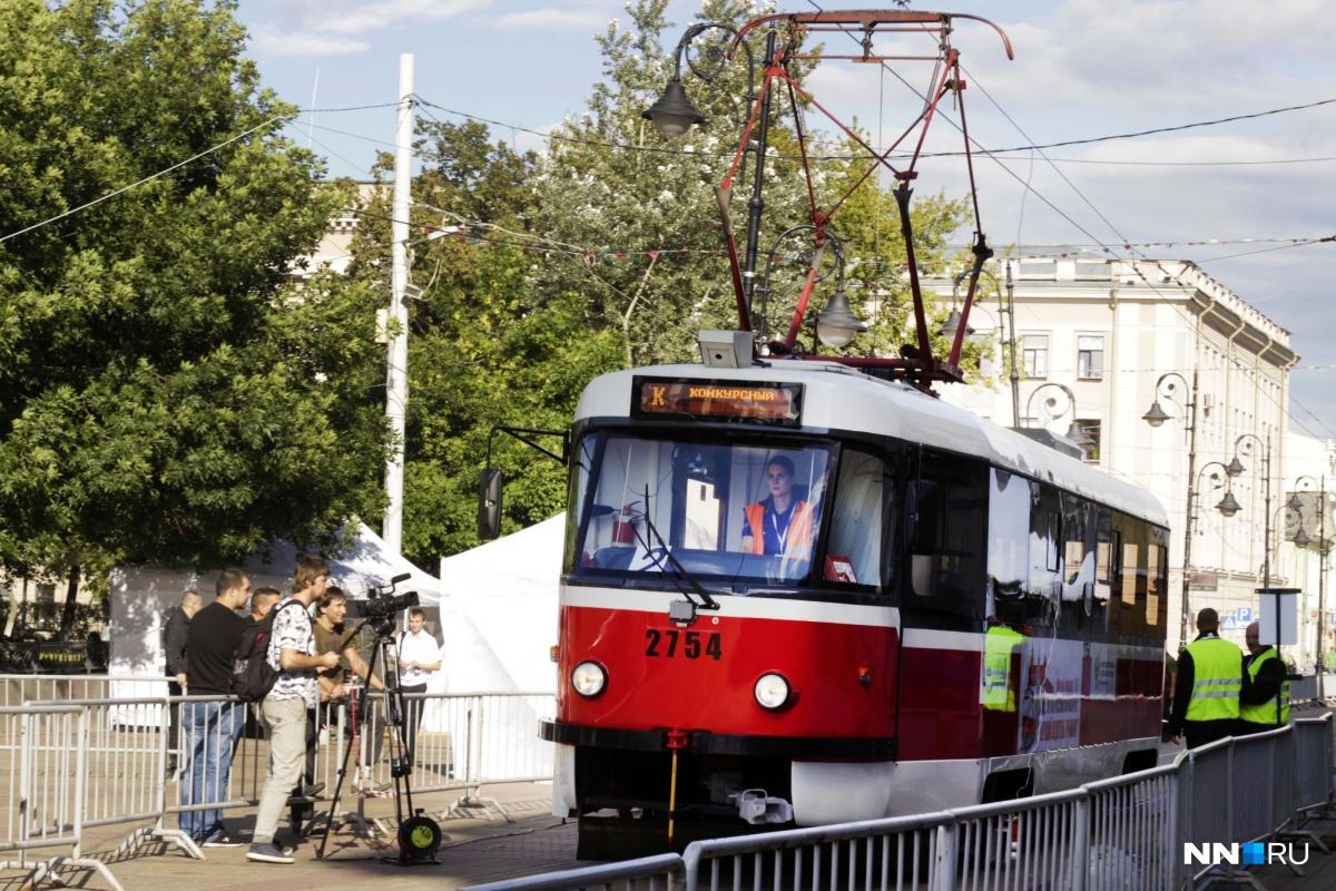 ВВолгограде работает один из наилучших водителей трамваев в РФ