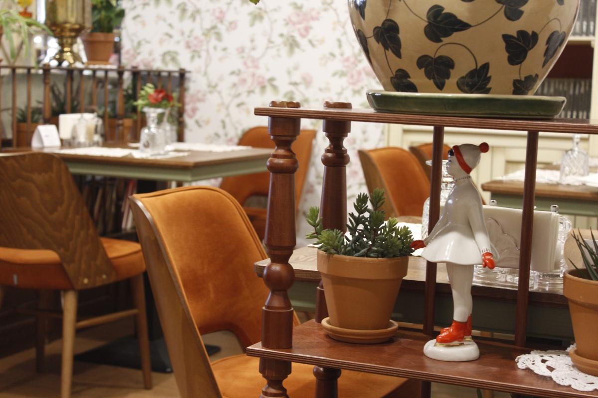 Интерьер ресторана «Паштет»