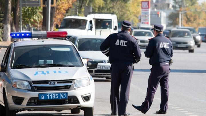 В Ростове в массовой аварии ранены три человека