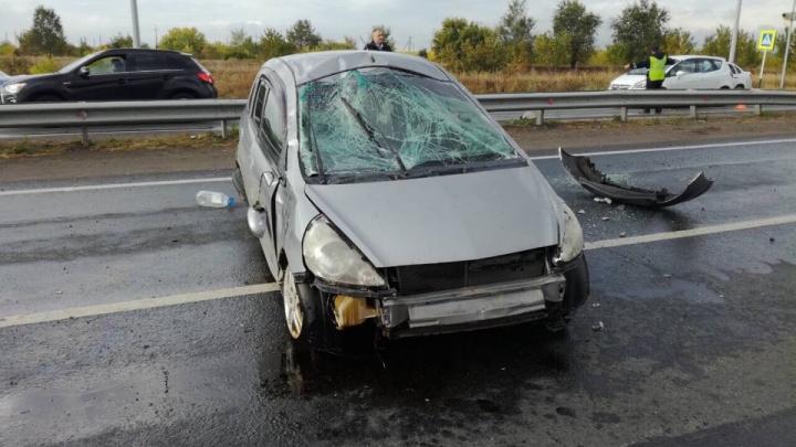 «Треснуло лобовое»: в Тольятти пешеход погиб под колесами иномарки