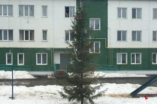 В доме на улице Трудовой нет вентиляции