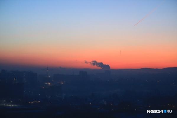 Дымка над городом продержится до 19 часов понедельника