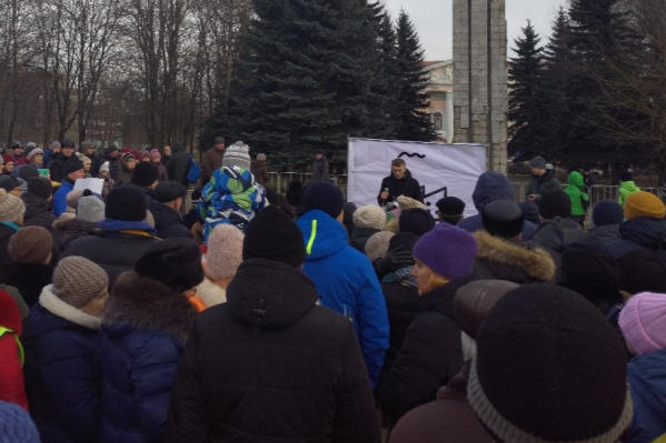 В Рыбинске митинг против ЦБК собрал целую площадь