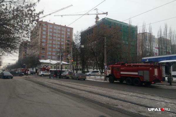 Движение на перекрестке Ленина — Ибрагимова затруднено
