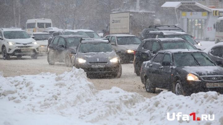 «Ещё десять дней снегопадов»: мэр поделился прогнозом погоды в Уфе
