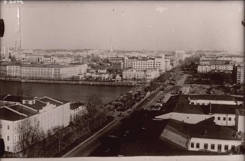 Вид на проспект Ленина с городской администрации