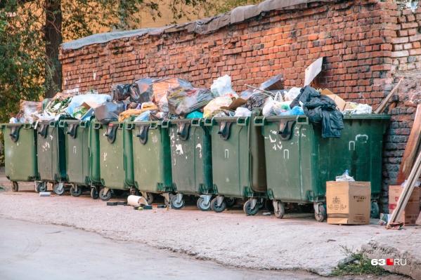 Пока мусор в Самарской области собирают по старинке