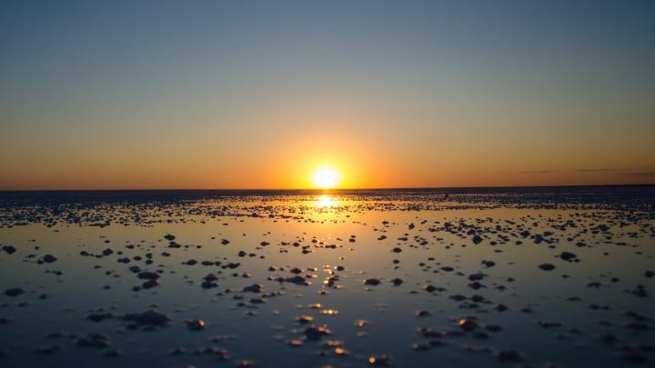 Соль и золото Эльтона: волгоградец снял уникальное озеро