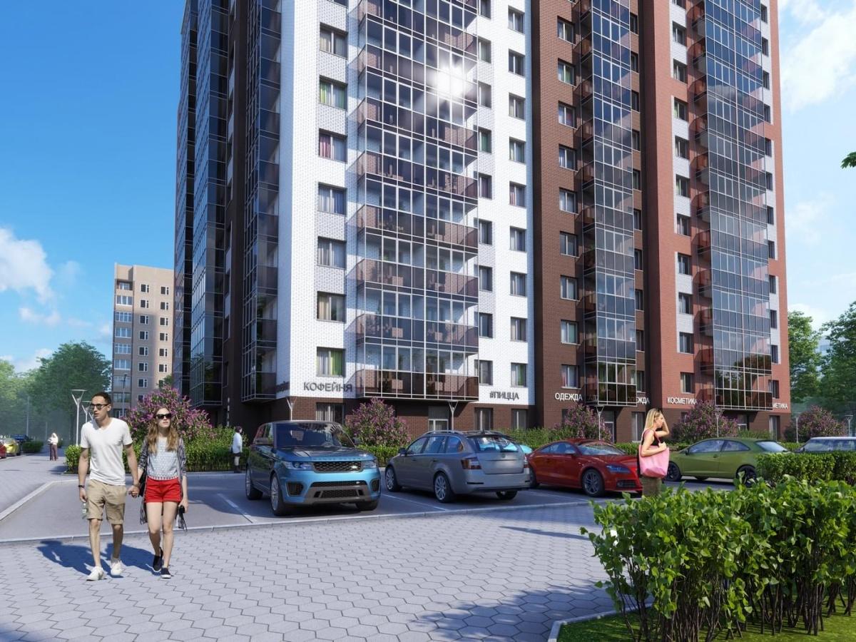 Открыта продажа коммерческих площадей в жилом комплексе iSadovaya