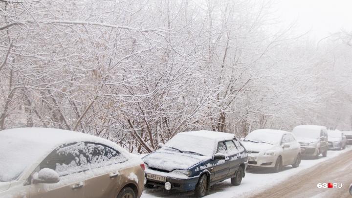 Метель и бешеный ветер: в Самарской области пройдет сильный снегопад