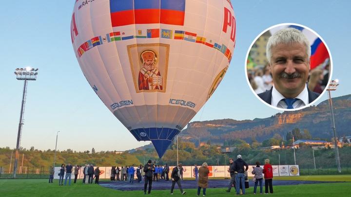 «У меня такой отпуск»: мэр Рыбинска прыгнул с парашютом из стратосферы