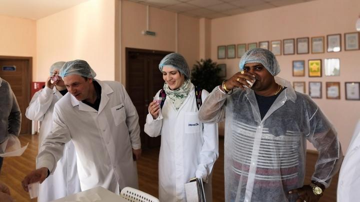 Из Индии — в Сибирь за молоком: Омск посетил бизнесмен из Мумбаи