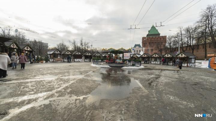 Будни возвращаются: движение транспорта по площади Минина и Пожарского возобновится в понедельник