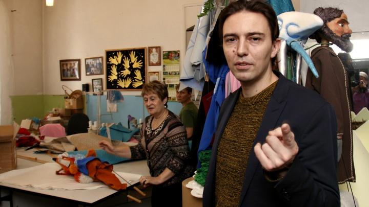 «Родители были возмущены»: скандальный режиссер-француз переехал в Новосибирск — работать в театре кукол
