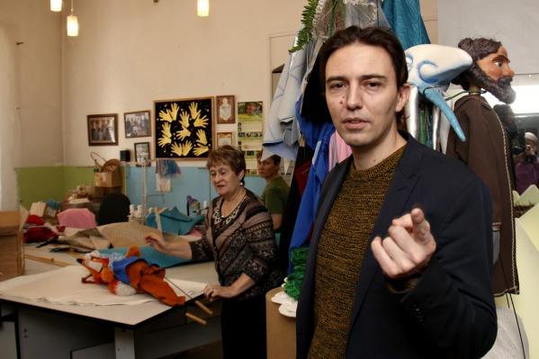 Ролан Боннин теперь будет удивлять новосибирских детей и их родителей