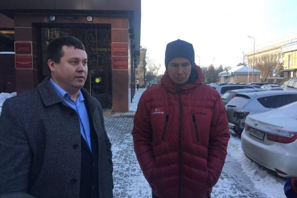 Адвокат Павел Смирнов и бизнесмен Анатолий Менский