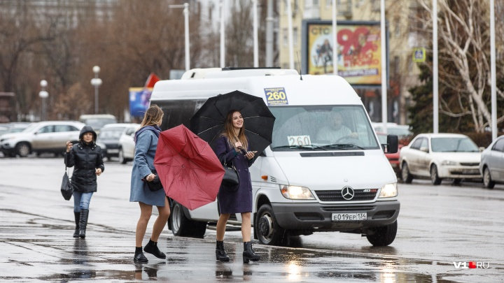 Дождь, снег и сильный ветер: в Волгоградской области ударят морозы до -10°С