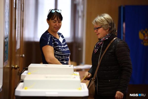 Избирком опубликовал первые данные по явке избирателей на выборах мэра