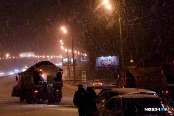 Основные магистрали города в этом году было решено посыпать «Бионордом»