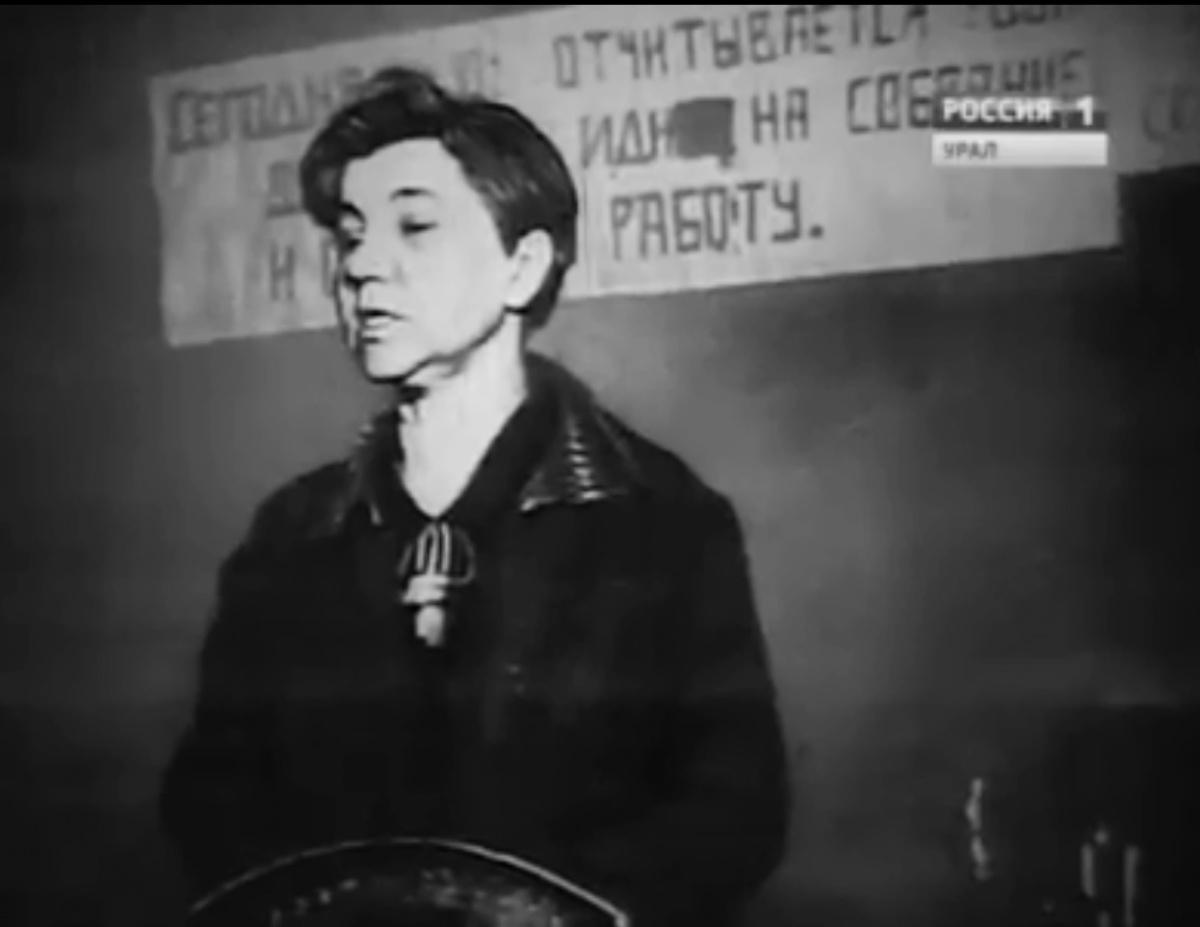 Анна Бычкова на должности председателя горсовета