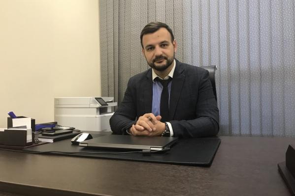 Максим Колот,руководитель юридической практики компании «Современная защита» в Красноярске