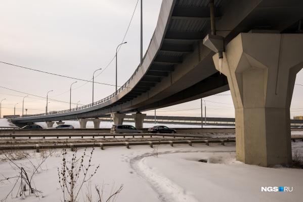 Эстакада Бугринского моста