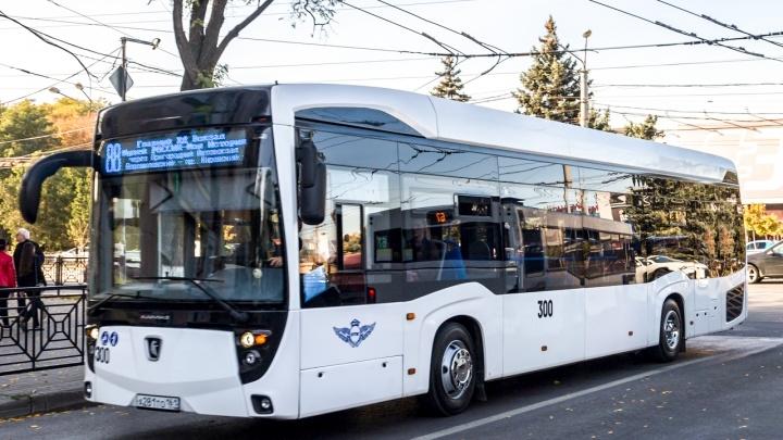 Ростовский электробус вернулся после ремонта на маршрут